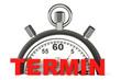 Stoppuhr Termin