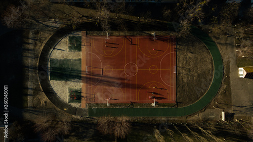 Photo taken on drone from a great height - 260345001