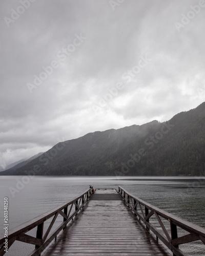 Acrylglas Pier PNW Lake and Dock