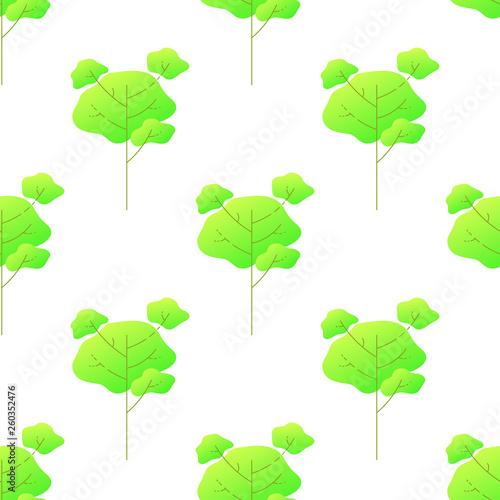 fototapeta na ścianę Deciduous high tree pattern