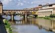 canvas print picture - Ponte Vecchio in Florenz