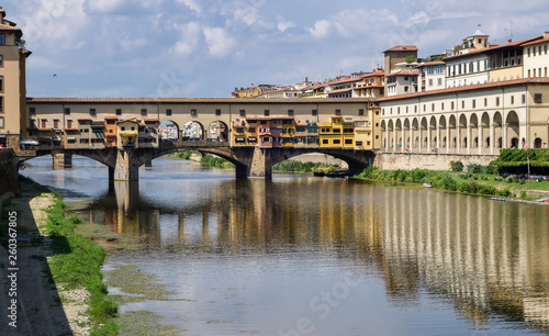canvas print picture Ponte Vecchio in Florenz