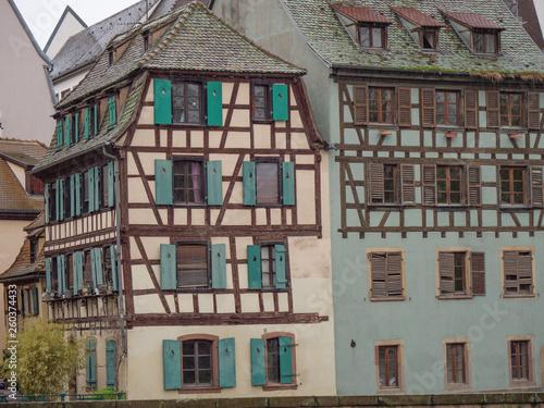 canvas print picture Strassburg in frankreich