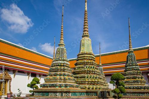 Fototapeten Bangkok temple in thailand