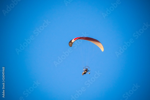 paraglider in the sky © George
