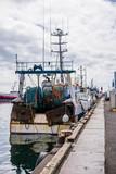 Guilvinec, le port et ses chalutiers, Finistère, Bretagne, France.