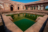 Baz Bahadur palace, mandu, madhya pradesh, india