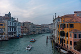 Italy, Venice, view of the Grand Canal