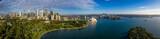 Unikalny panoramiczny widok na piękne miasto Sydney w Australii