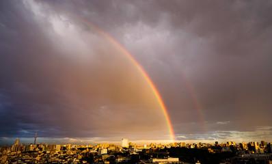 虹 空 自然現象 雲
