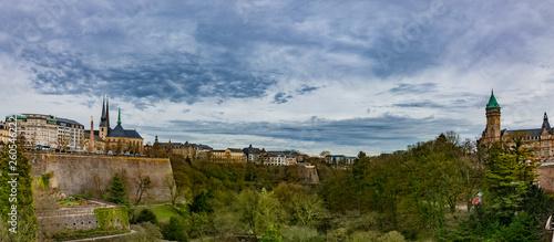 Stadt Luxemburg Panorama - 260546222