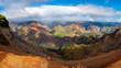 rainbow over Waimea Canyon, Kauai, Hawaii. Timelapse - 260551894