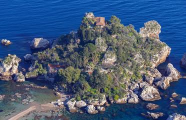 Taormina. Isola Bella Island.