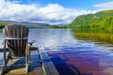 Monroe Lake, in Mont Tremblant National Park