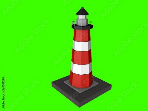 Leinwandbild Motiv lighthouse in high quality