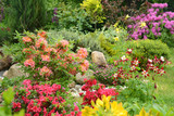 Fototapeta Kawa jest smaczna - Gartenidylle mit vielen Blumen © K.-U. Häßler