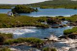 Irlanda. Parco nazionale di Connemara. Area naturale protetta dell'Irlanda occidentale caratterizzata da montagne suggestive (catena montuosa delle Dodici Cime), distese di torbiere, praterie e boschi