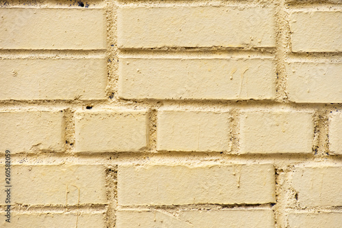 canvas print picture Texture yellow shabby wall