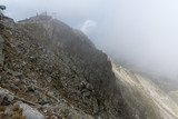 Amazing Panorama from Musala peak, Rila mountain, Bulgaria