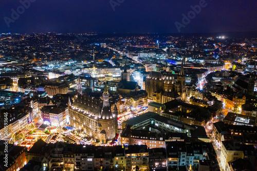 Leinwanddruck Bild Aachen