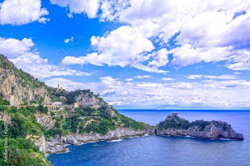 Amalfi Coast, Copa di Conca, in Italy