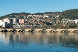 Bridge over Lerez river in Pontevedra (Spain)