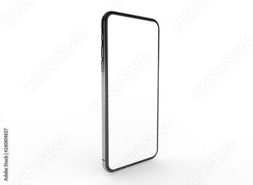 Leinwandbild Motiv  New realistic mobile phone smartphone
