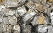 Leinwandbild Motiv Aluminum Scrap