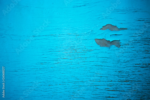 blue textured wooden