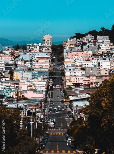 canvas print picture San Francisco