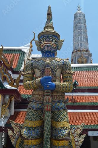 Fototapeten Bangkok buddhist temple in bangkok thailand