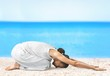 Leinwanddruck Bild - Yoga.