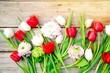 Frühling - Frühlingsblumen Blumenstrauß - 260737209