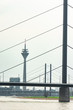 canvas print picture - Düsseldorf am Rhein