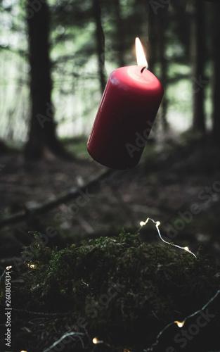 Flying Candle © Emmanuel