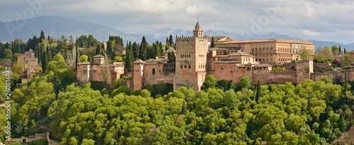 Vista de la Alhambra de Granada desde el Albaicín - 260816861
