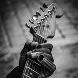 Blues guitar hand 1