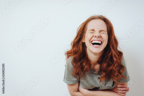 Young woman with a good sense of humor © contrastwerkstatt