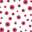 beautiful flowers pattern background - 260826013