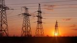 Fototapeta Kawa jest smaczna - power line in the sunlight / bright abstract photo of the industrial zone © ml1413