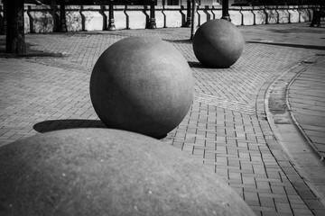 Birmingham's concrete balls