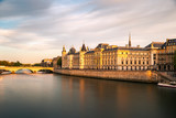 Pont Neuf and Seine river at sunny summer sunset, Paris, France