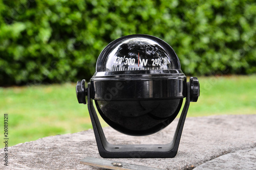 Navigation Black Compass