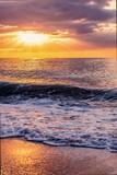 Sonnenaufgang am Meer Sommer Ferien Spanien