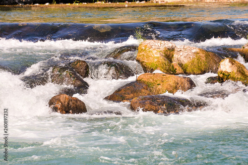 Water Splash Waterfall