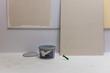 canvas print picture - Renovieren, bauen, Wand, Handwerk