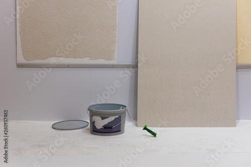 canvas print picture Renovieren, bauen, Wand, Handwerk