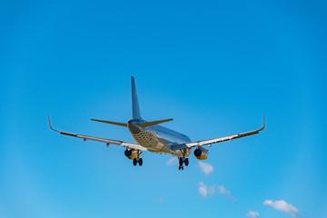 Aviones. Aterrizaje y despegue