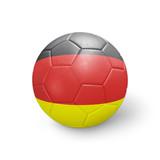 Ballon football drapeau Allemagne