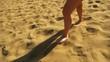 Slow walks on the sand